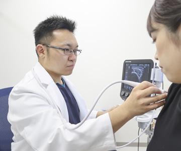 超音波(エコー)を用いた診断と治療